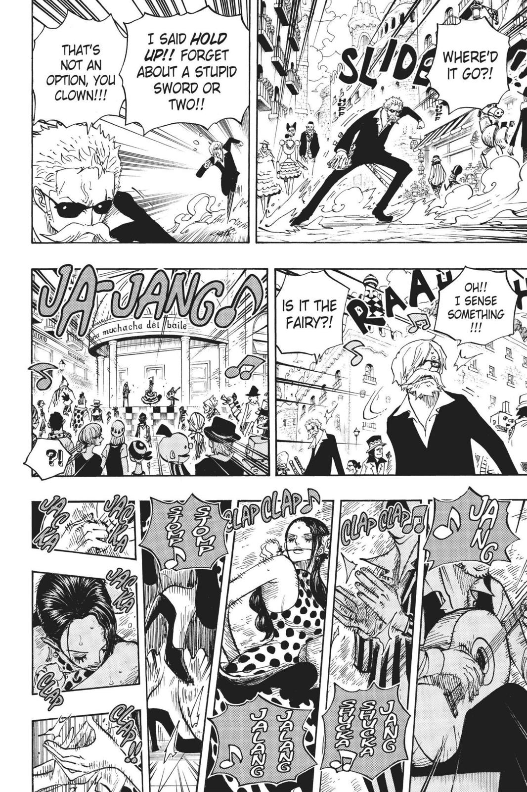 One Piece Chapter 703 Page 6
