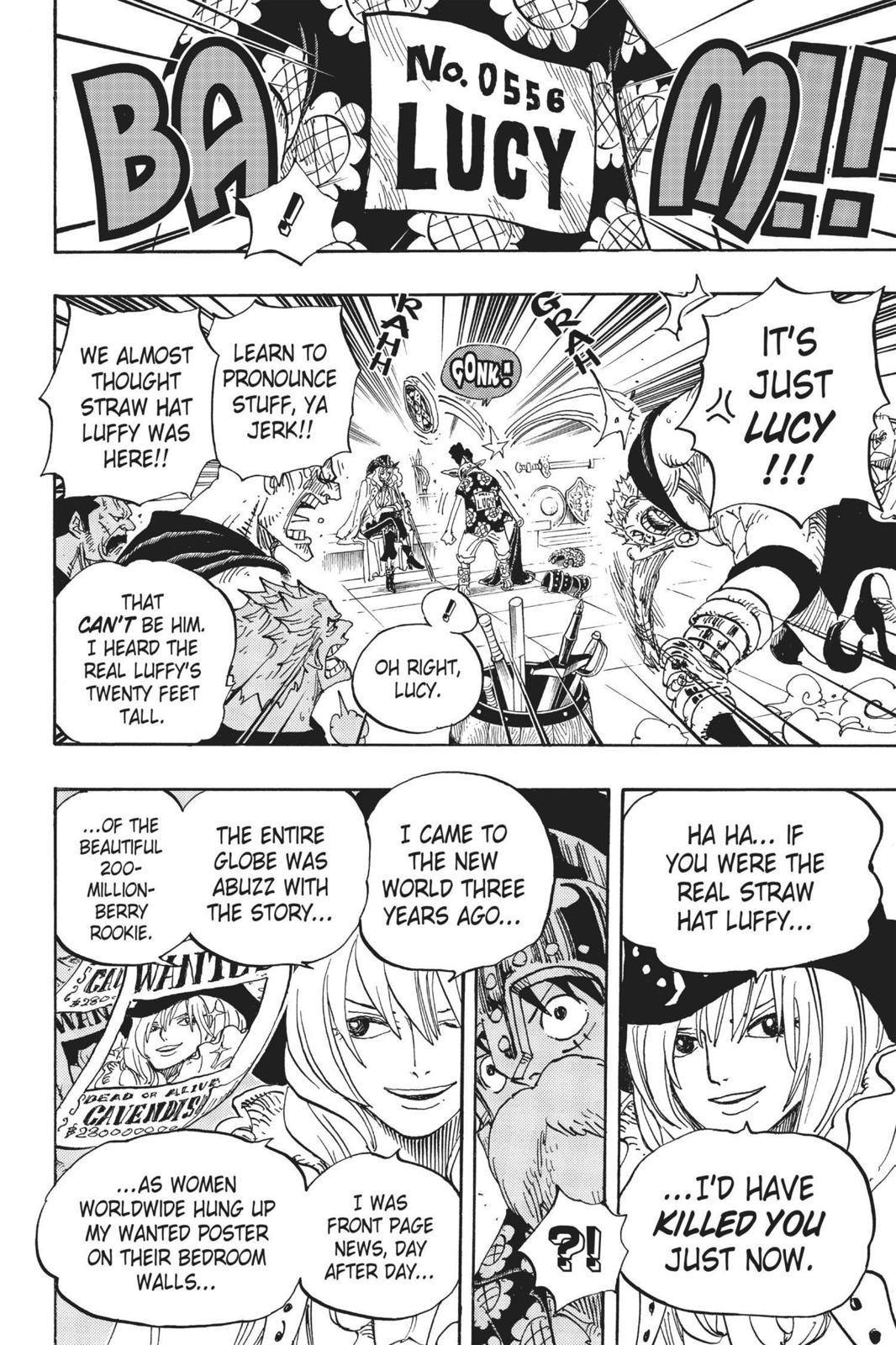 One Piece Chapter 704 Page 12