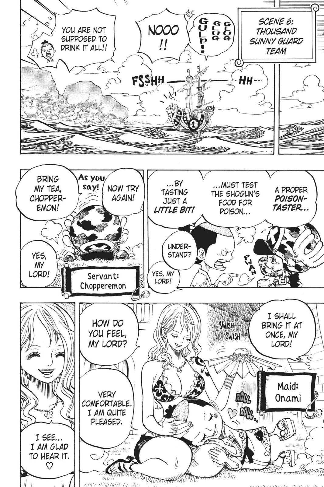 One Piece Chapter 705 Page 16