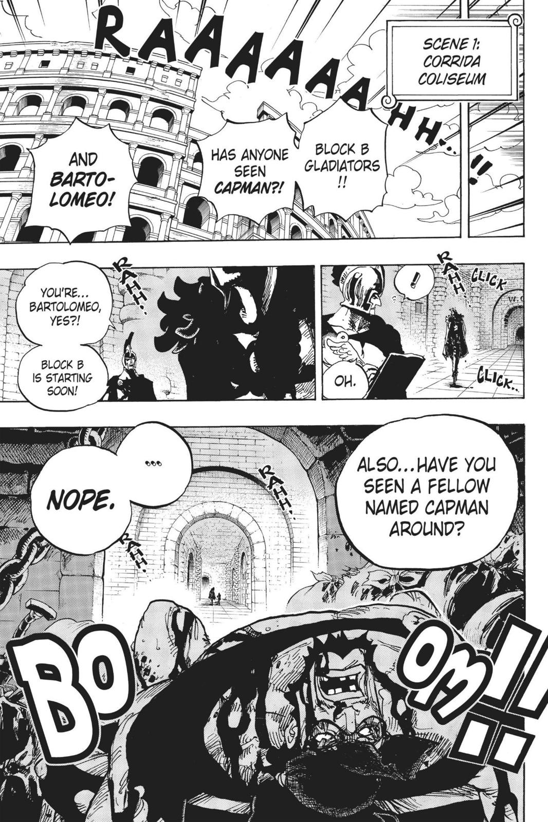 One Piece Chapter 705 Page 19