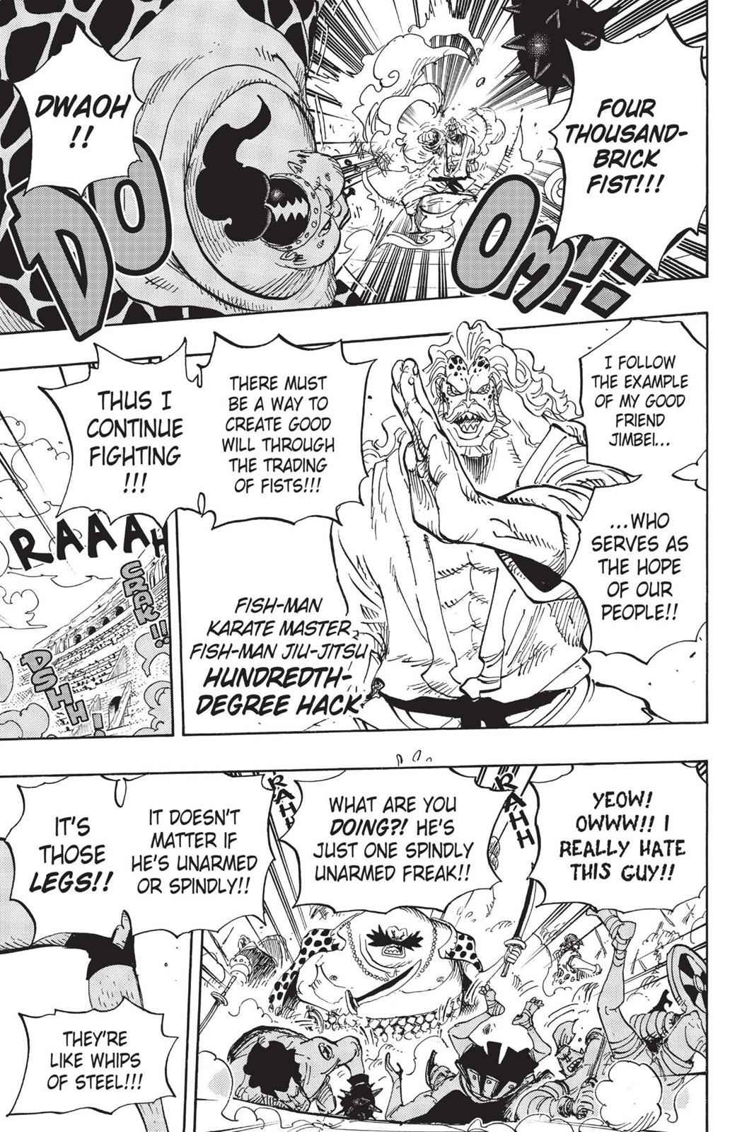 One Piece Chapter 707 Page 12