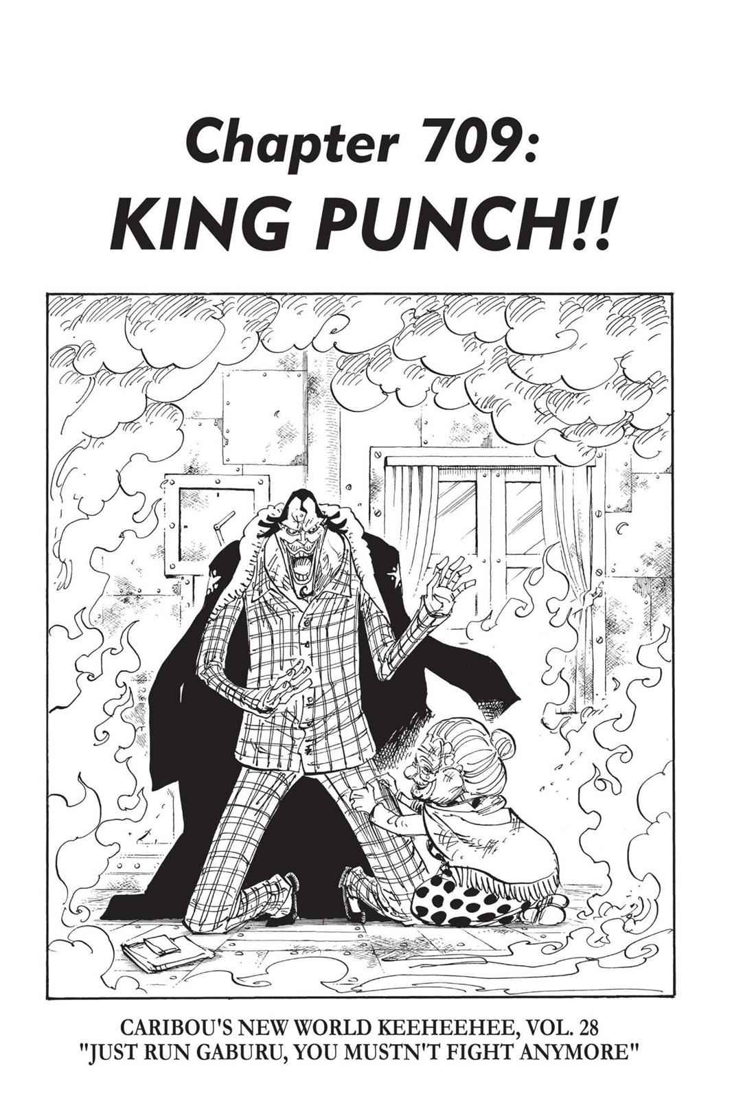 One Piece Chapter 709 Page 1