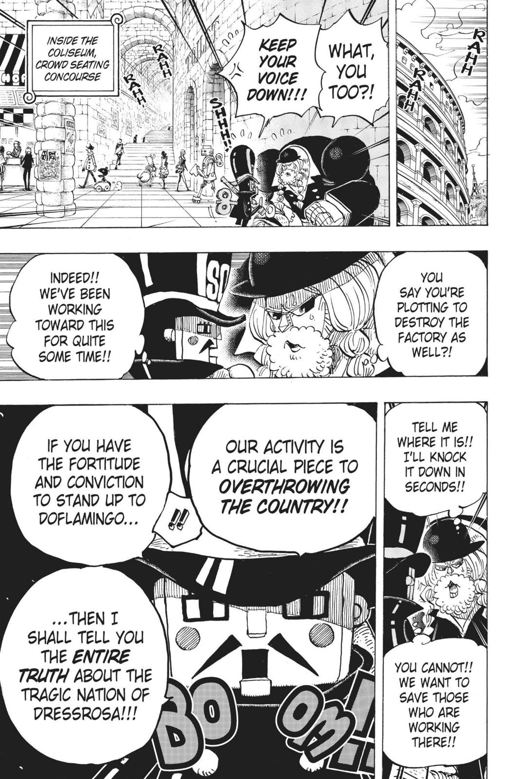 One Piece Chapter 709 Page 18