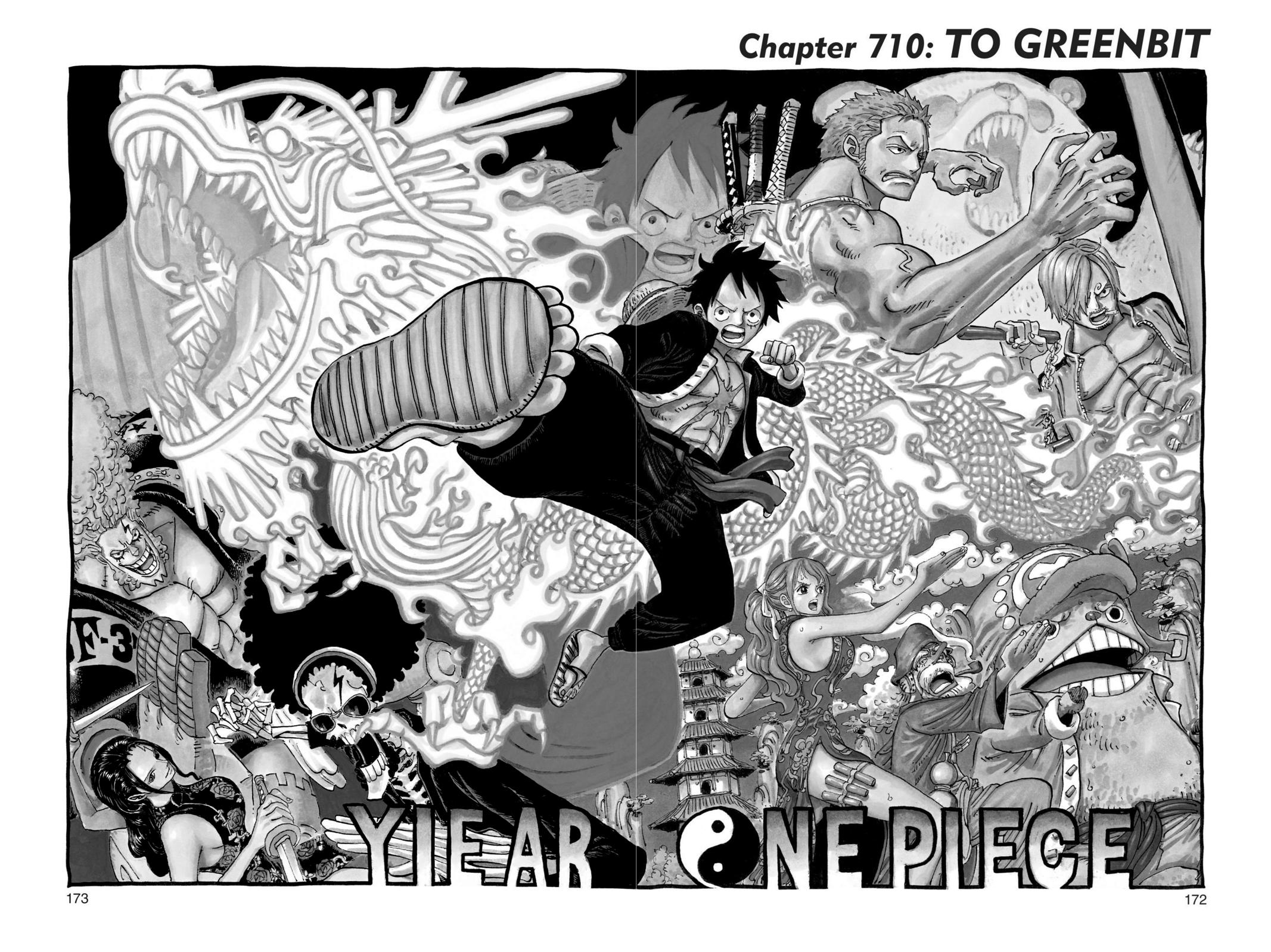 One Piece Chapter 710 Page 1