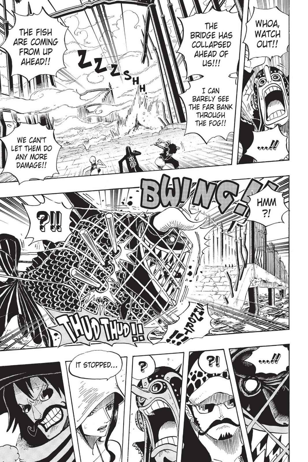 One Piece Chapter 710 Page 10