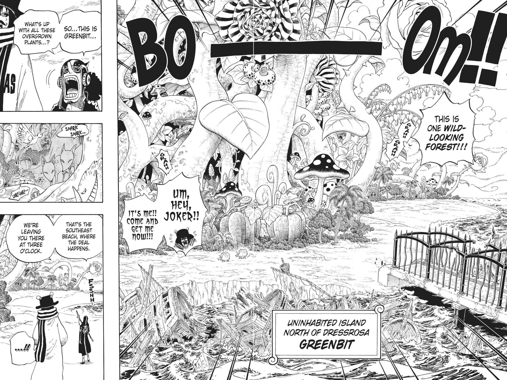 One Piece Chapter 710 Page 12