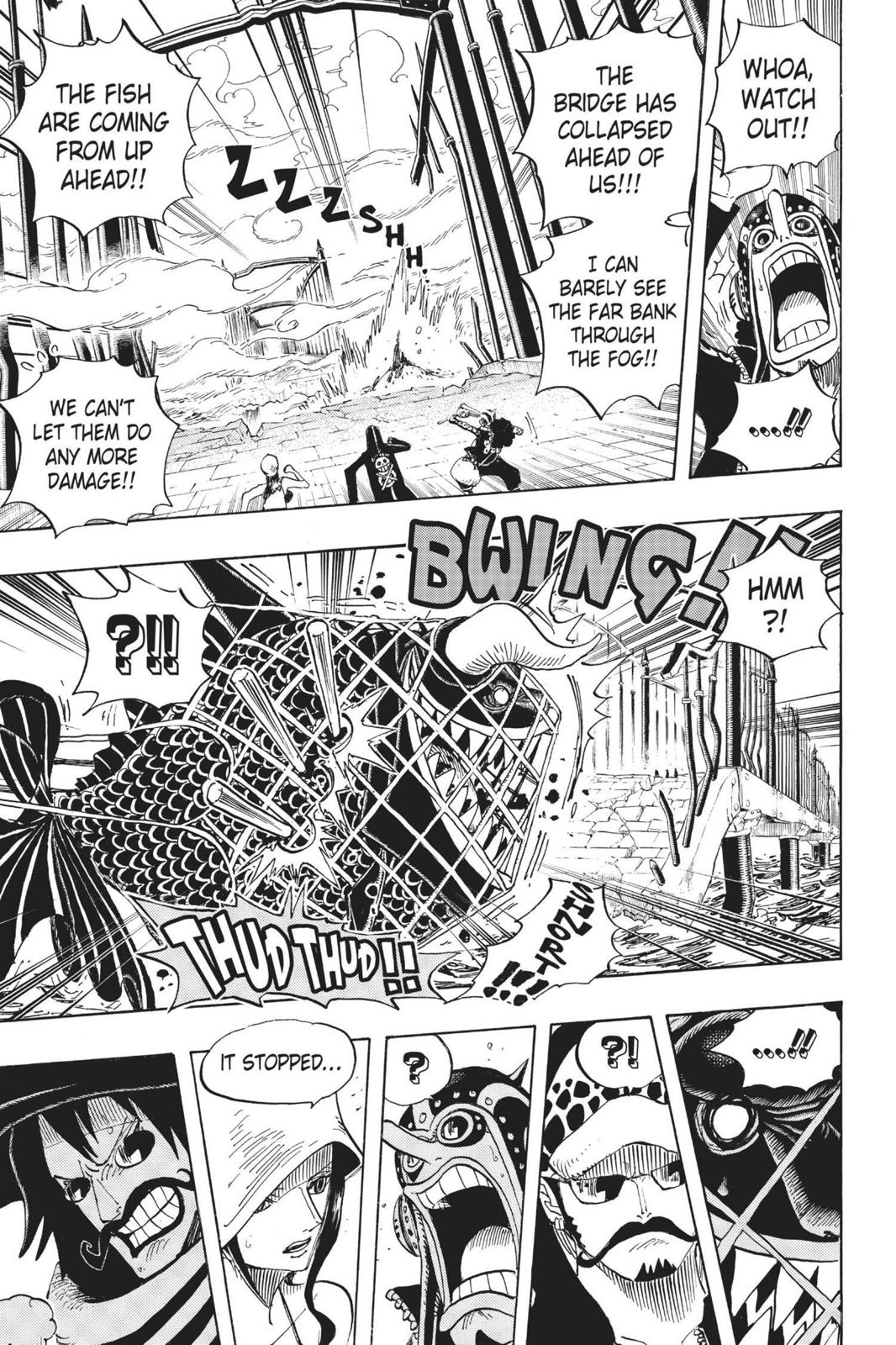 One Piece Chapter 710 Page 9