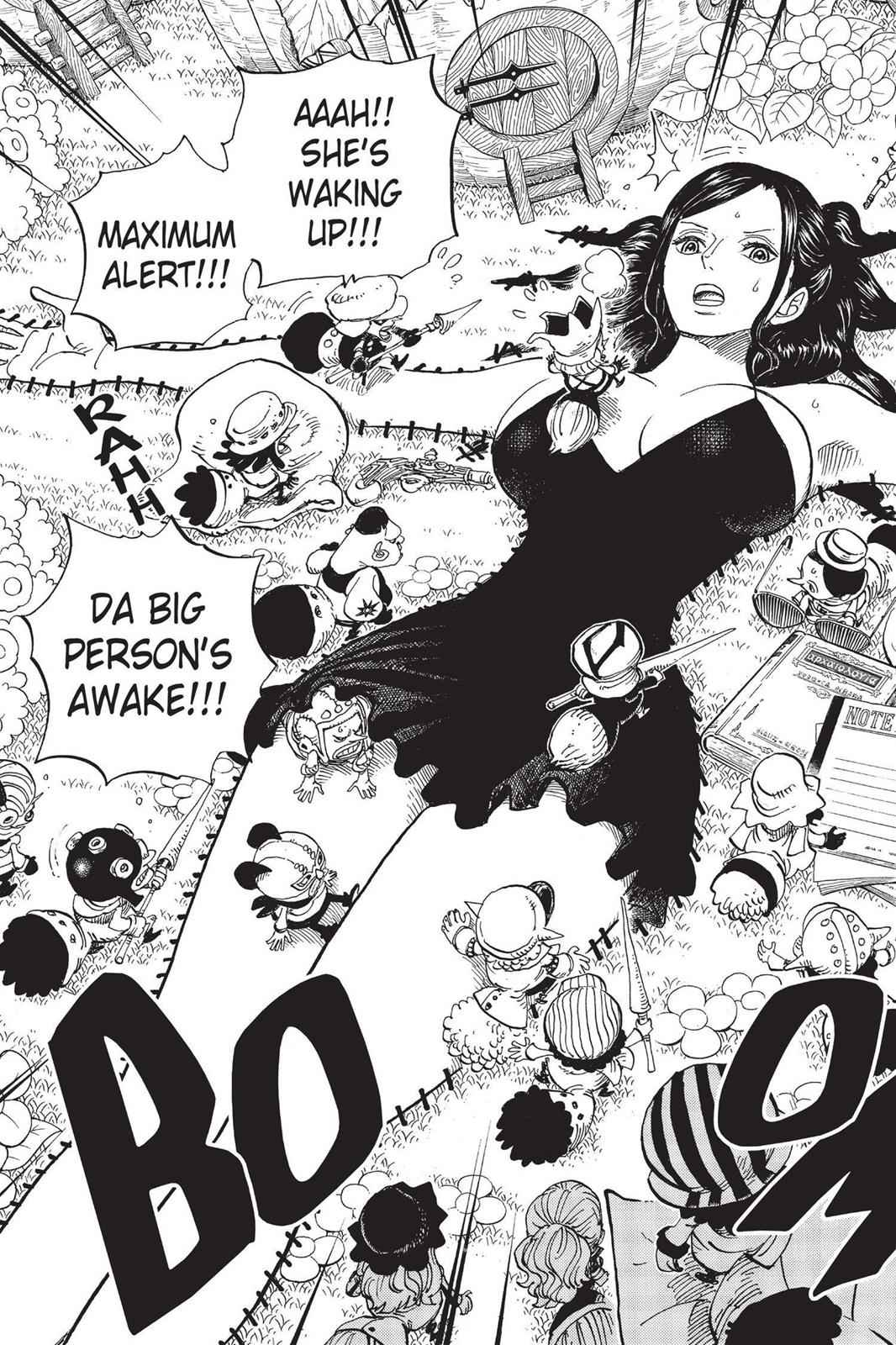 One Piece Chapter 711 Page 3