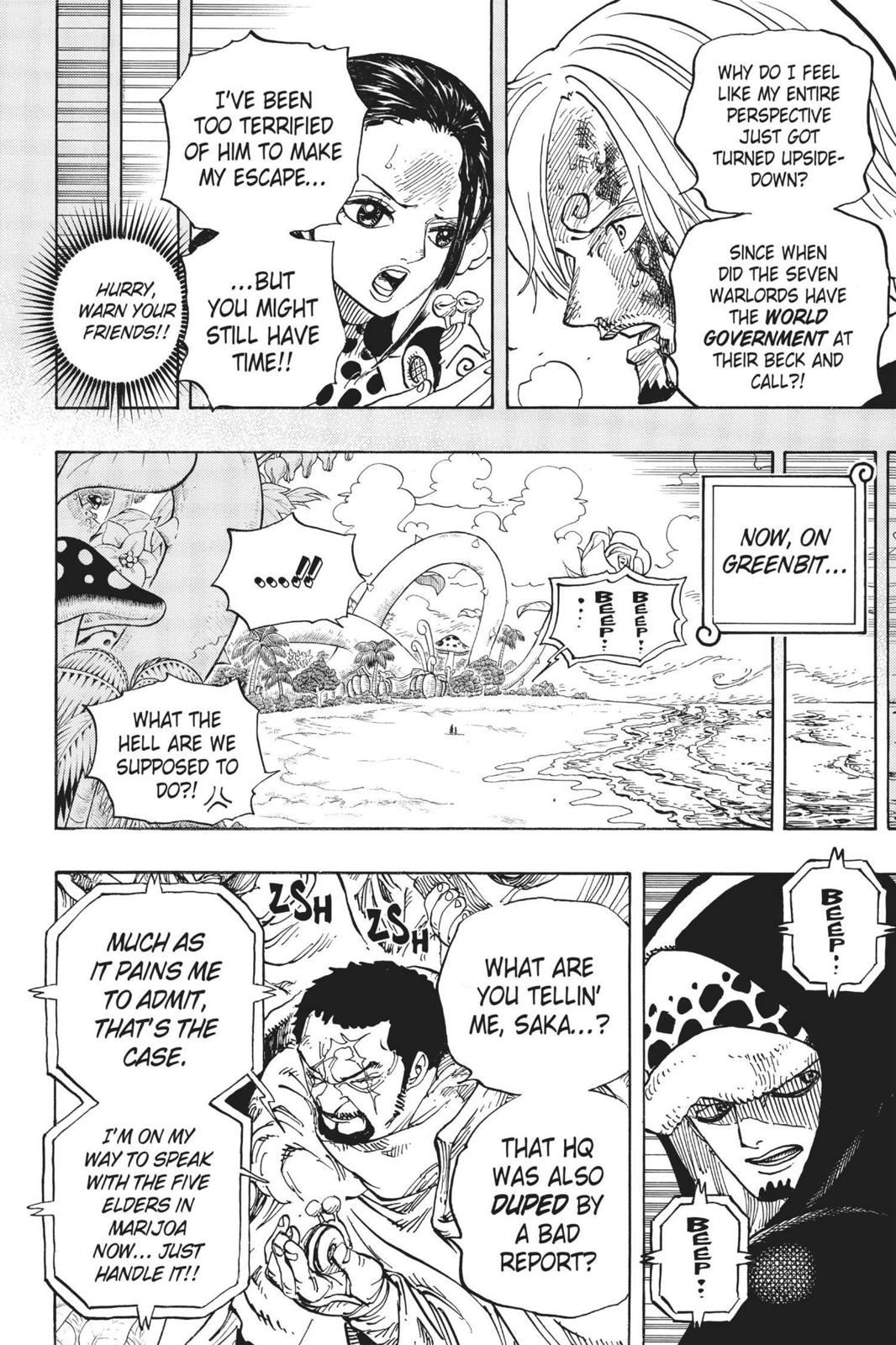 One Piece Chapter 712 Page 18