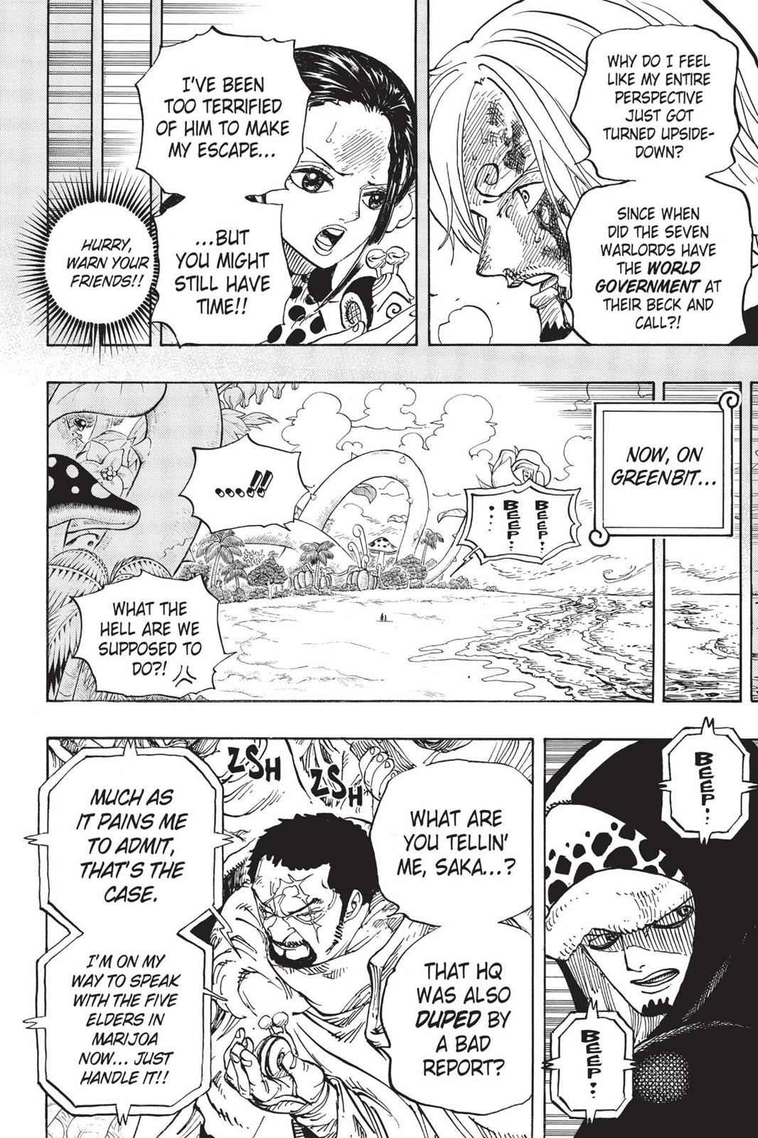 One Piece Chapter 712 Page 19