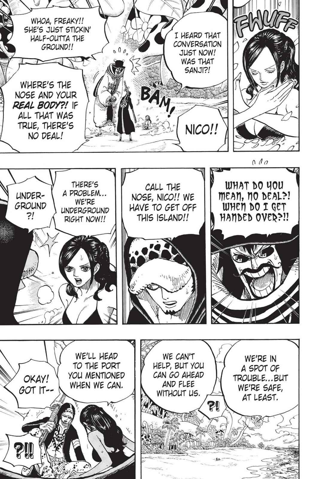 One Piece Chapter 712 Page 20
