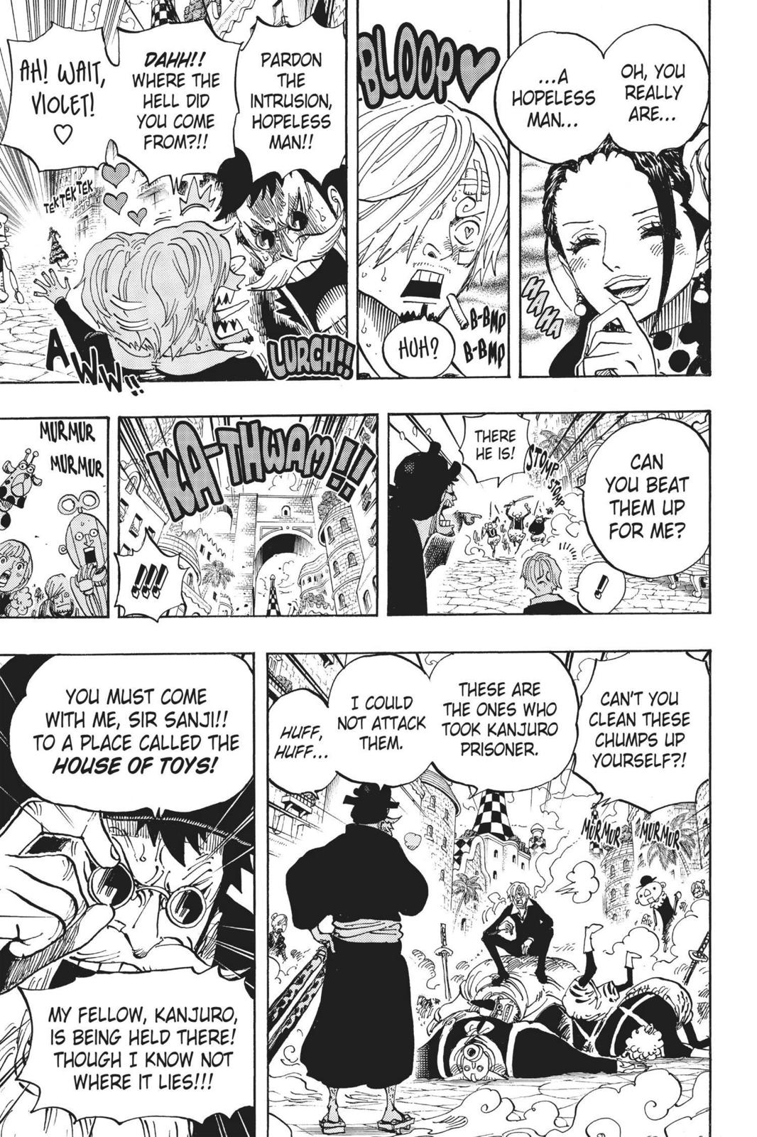 One Piece Chapter 713 Page 14