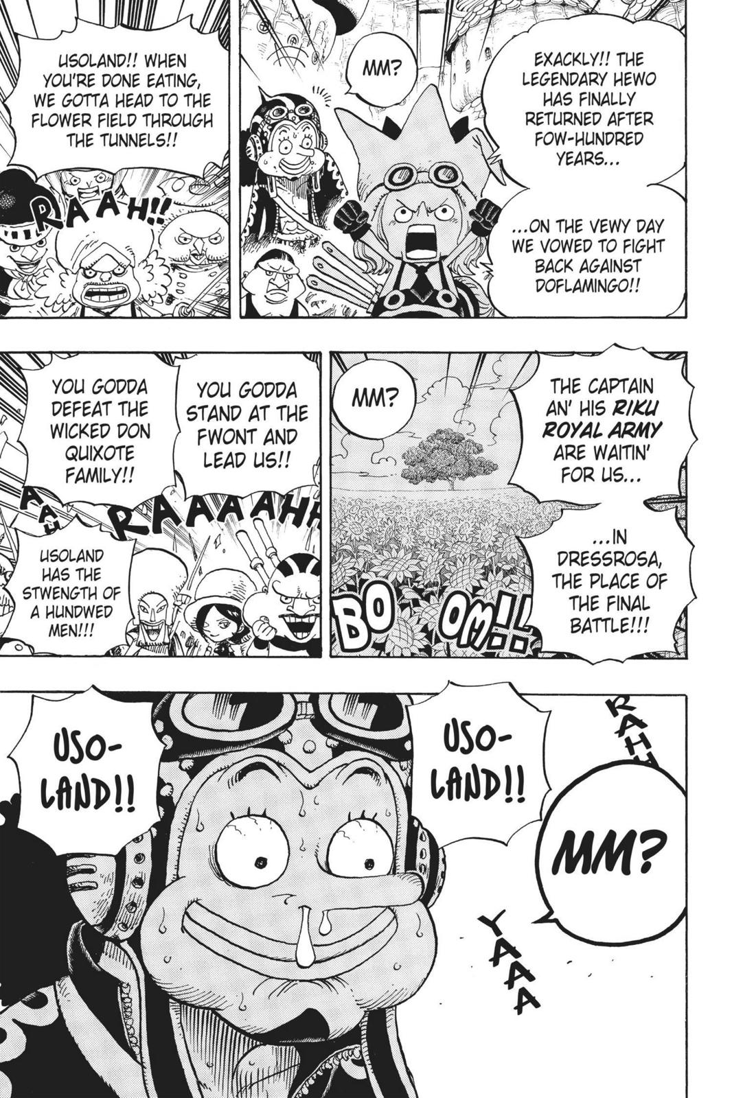 One Piece Chapter 713 Page 18