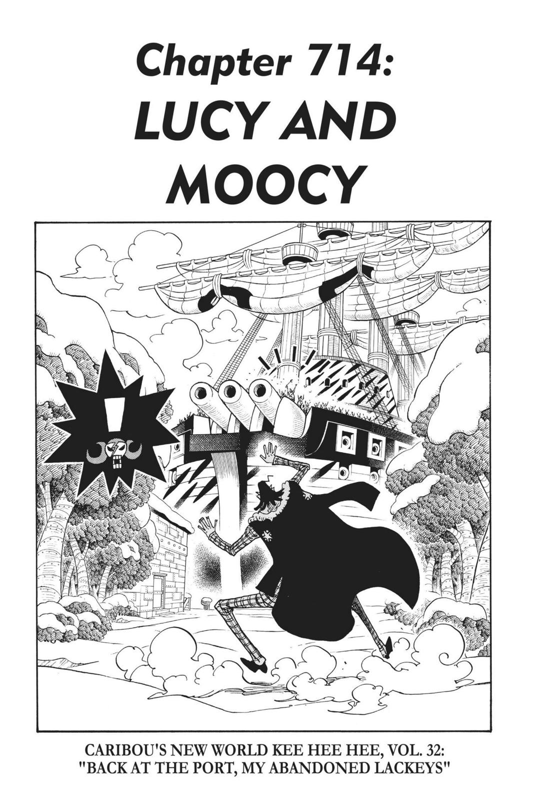 One Piece Chapter 714 Page 1