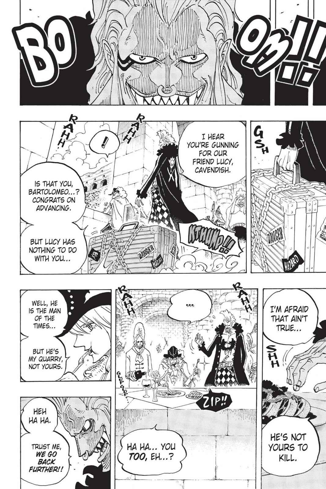 One Piece Chapter 714 Page 10