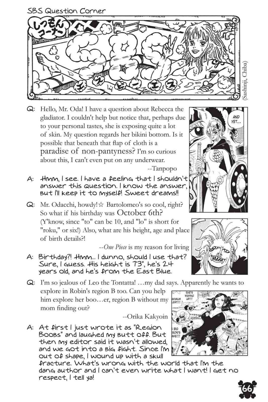 One Piece Chapter 714 Page 20