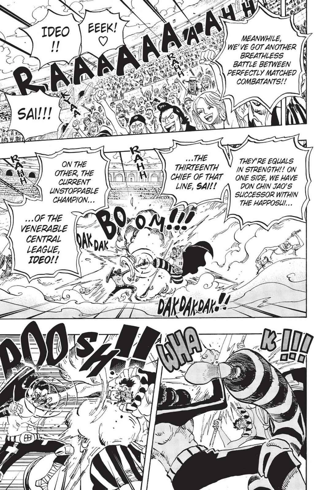 One Piece Chapter 716 Page 13