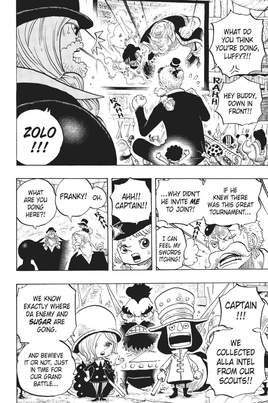 One Piece Chapter 718 Page 8