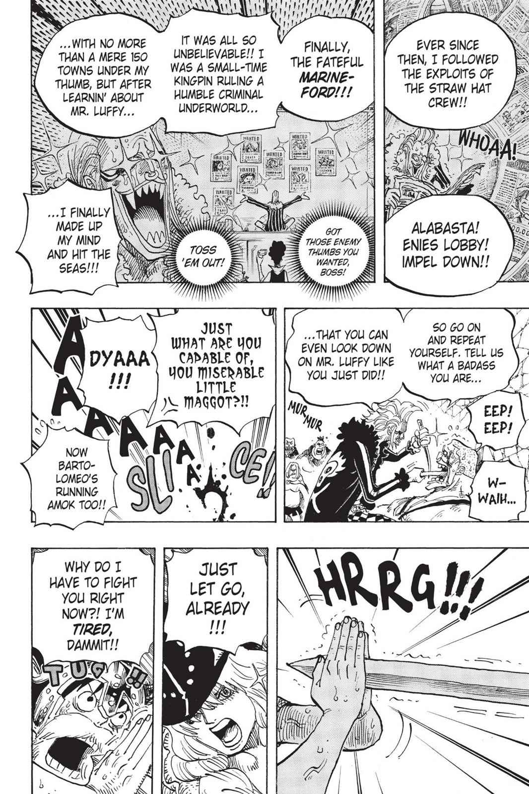 One Piece Chapter 720 Page 6