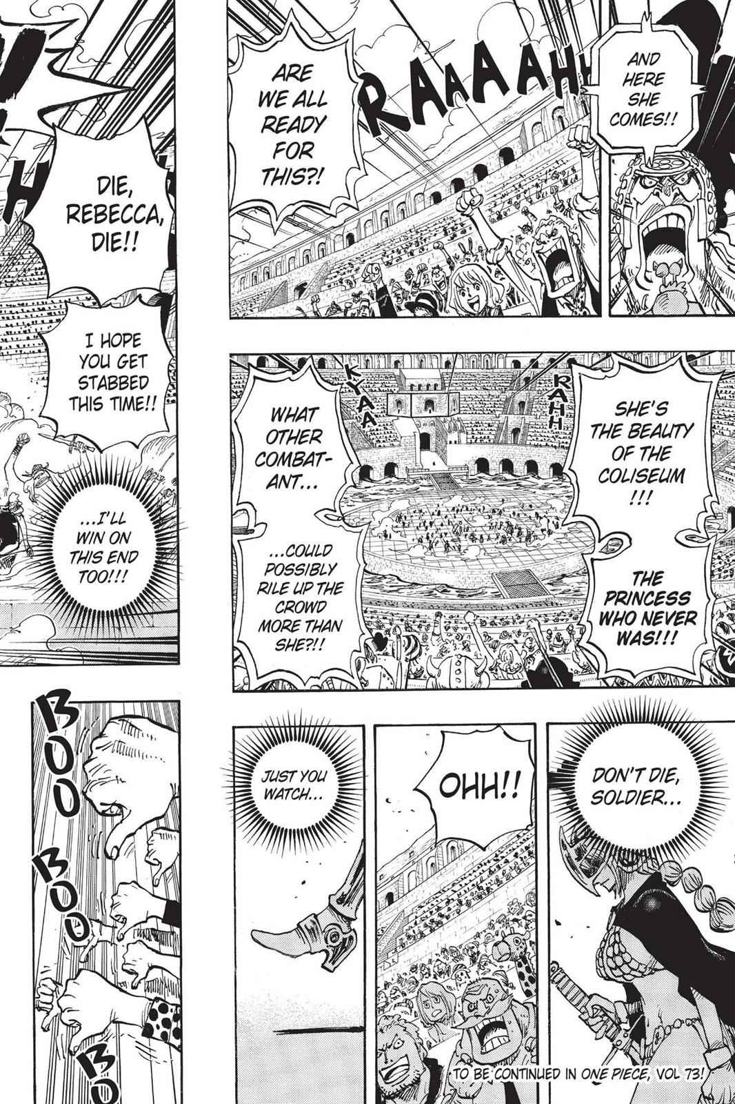 One Piece Chapter 721 Page 18