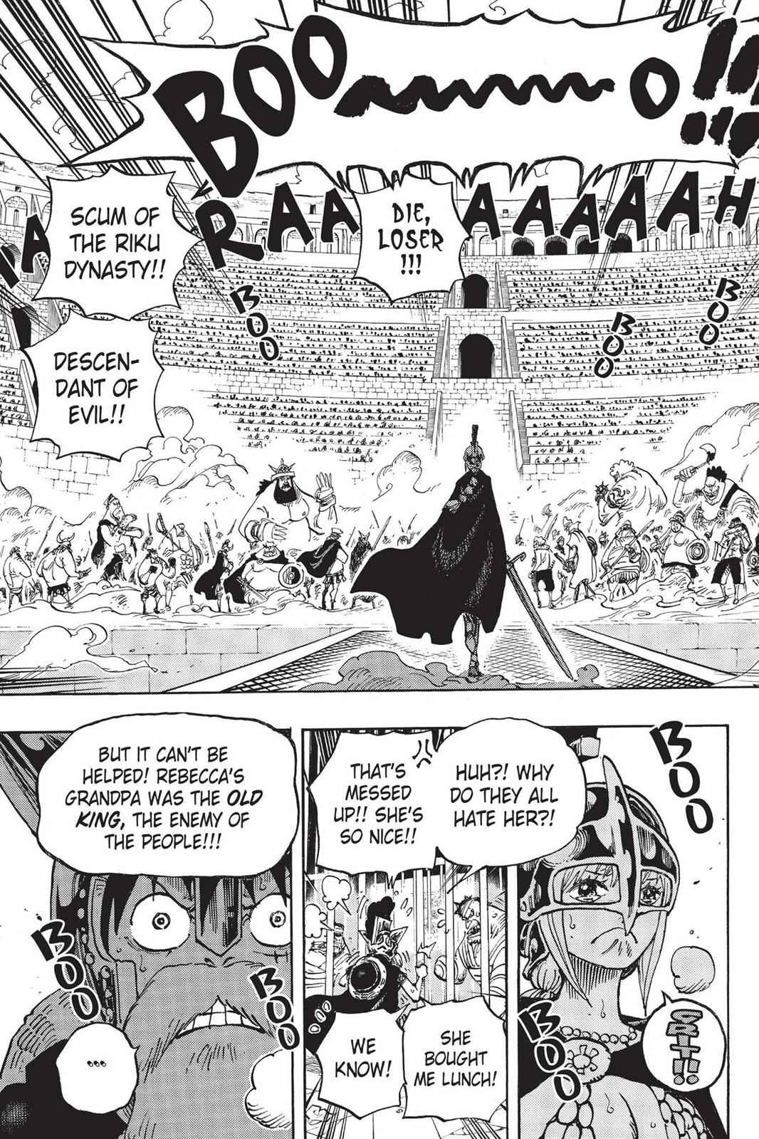One Piece Chapter 721 Page 19