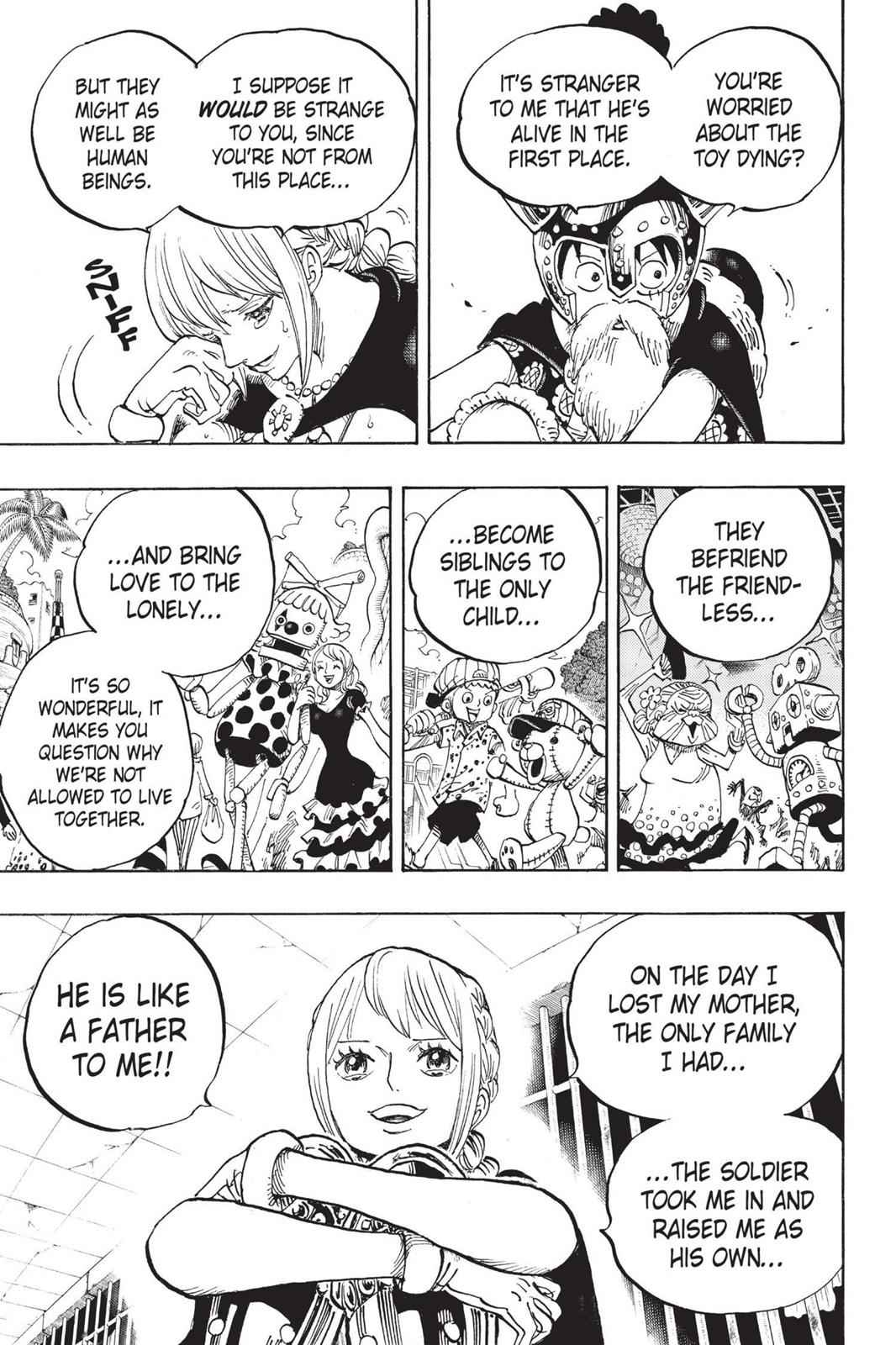 One Piece Chapter 721 Page 3