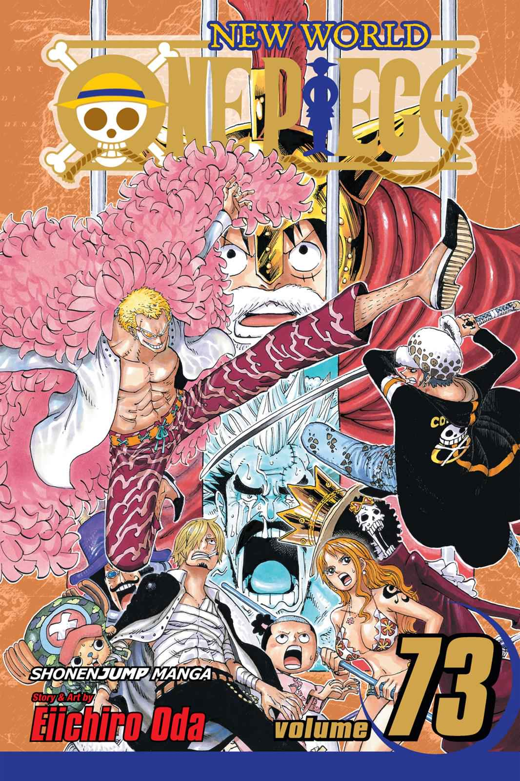 One Piece Chapter 722 Page 1