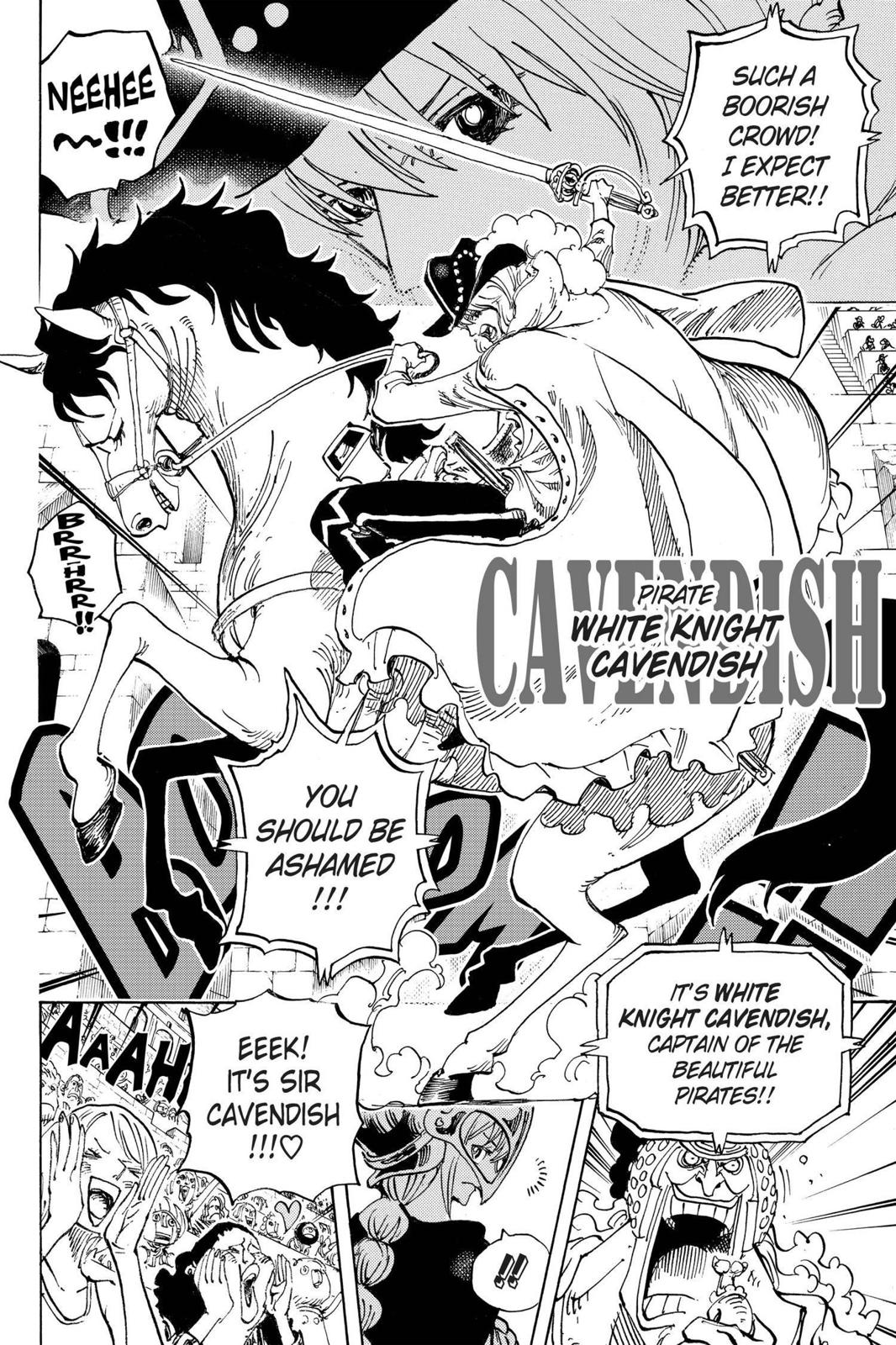 One Piece Chapter 722 Page 10