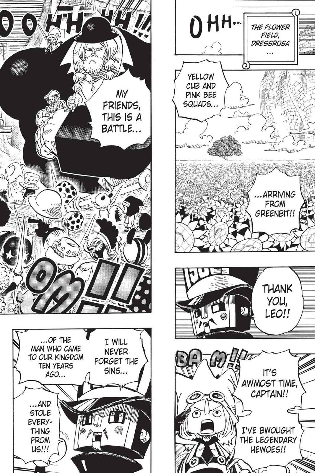One Piece Chapter 722 Page 17