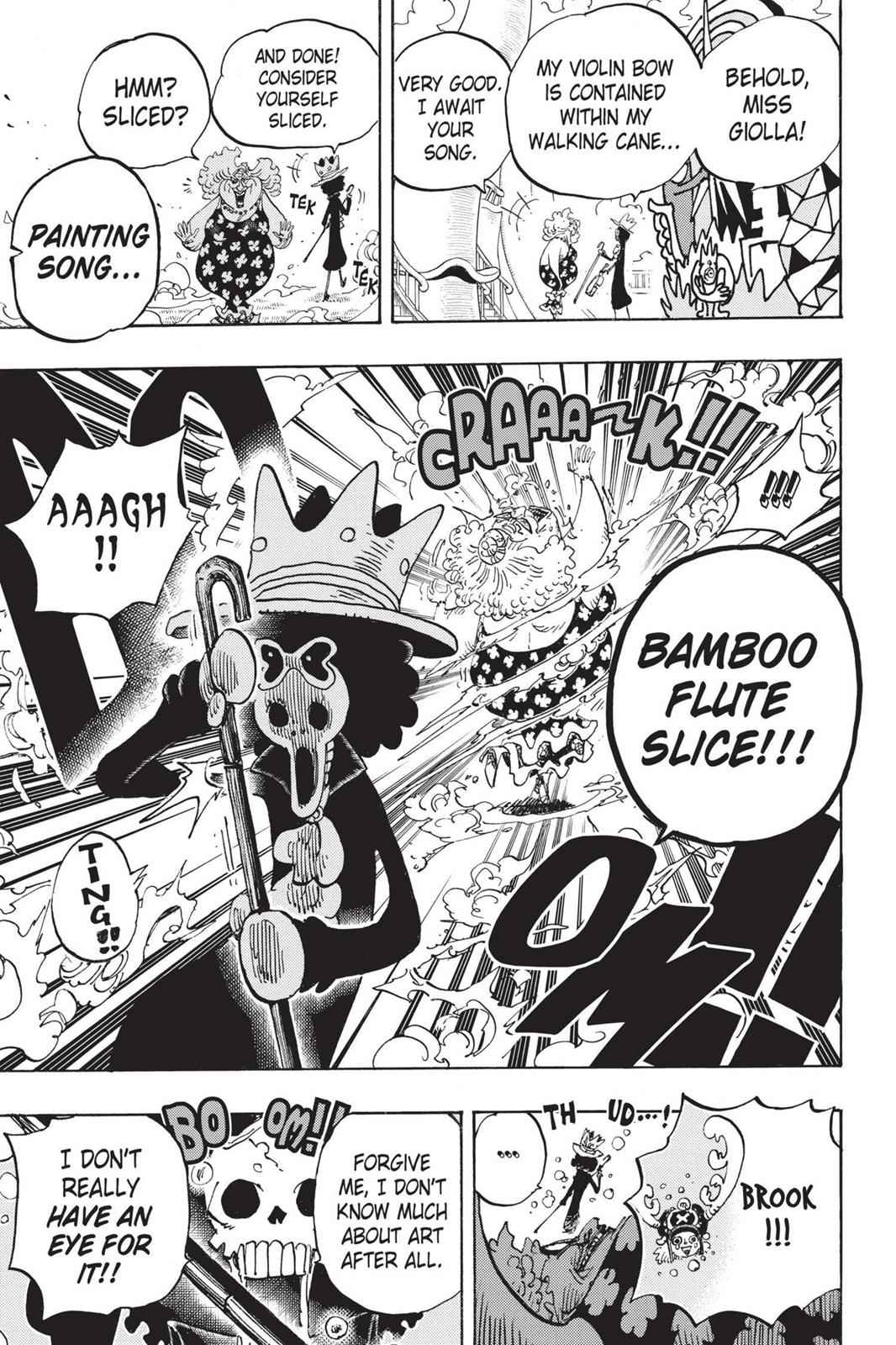 One Piece Chapter 722 Page 24