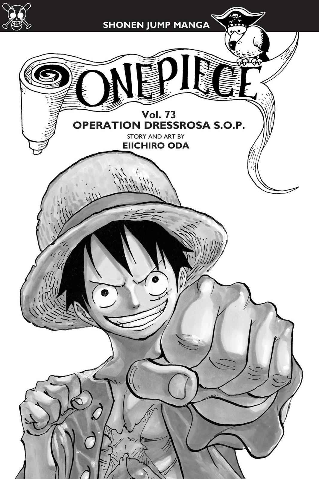 One Piece Chapter 722 Page 4