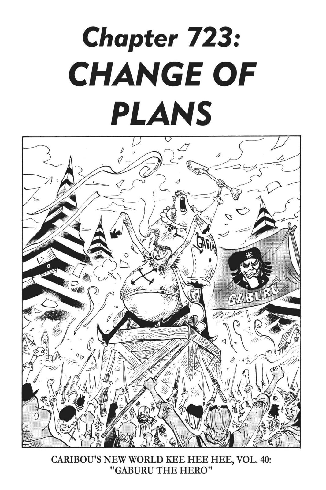 One Piece Chapter 723 Page 1