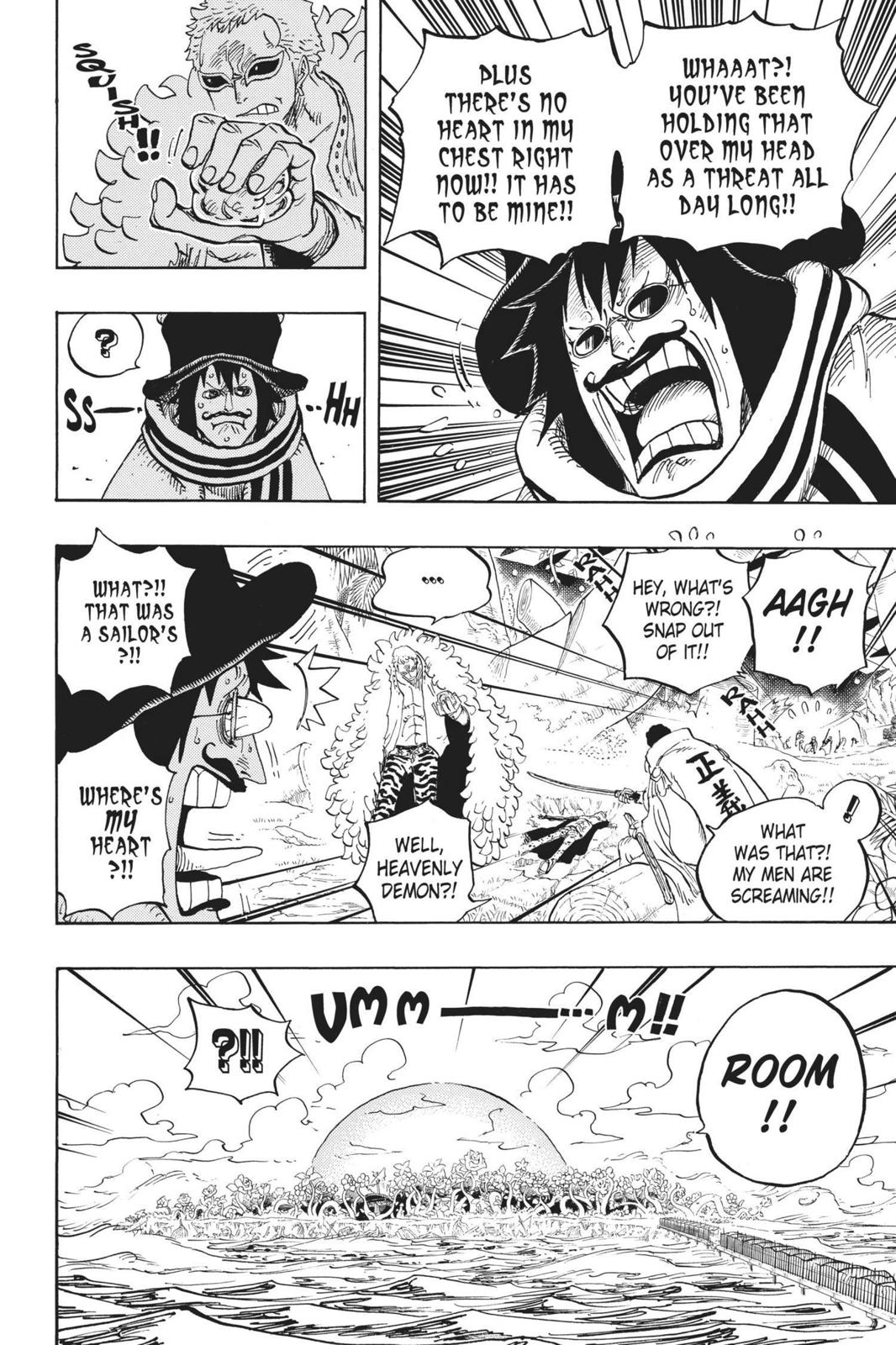 One Piece Chapter 723 Page 12