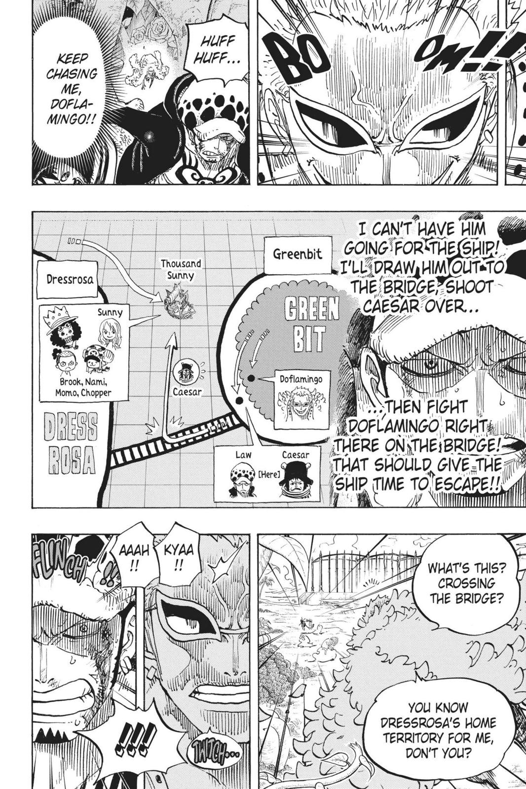 One Piece Chapter 723 Page 16