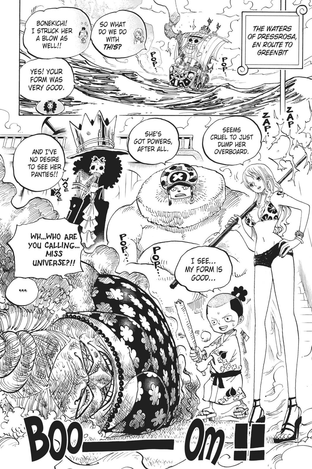 One Piece Chapter 723 Page 8
