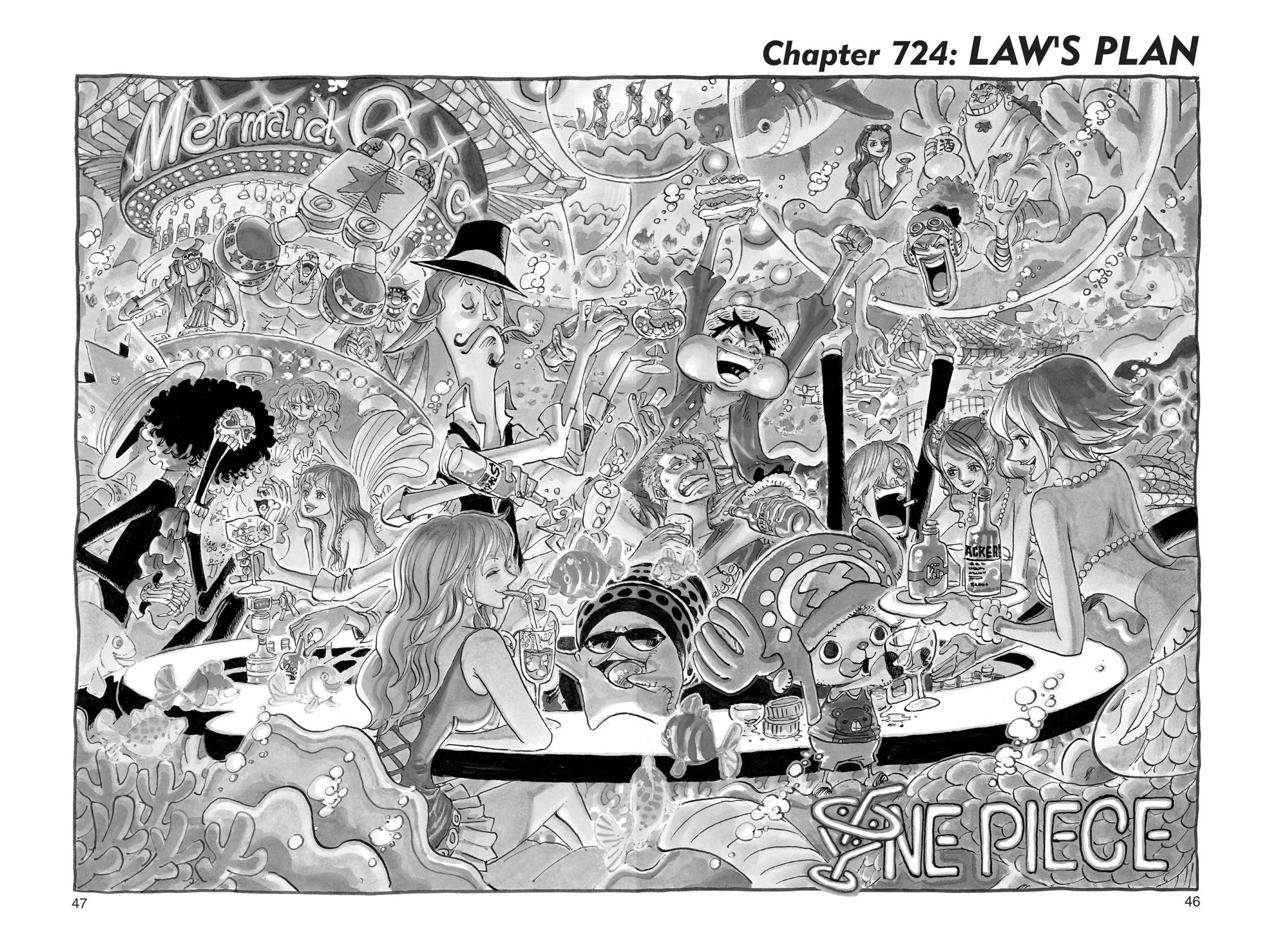 One Piece Chapter 724 Page 1