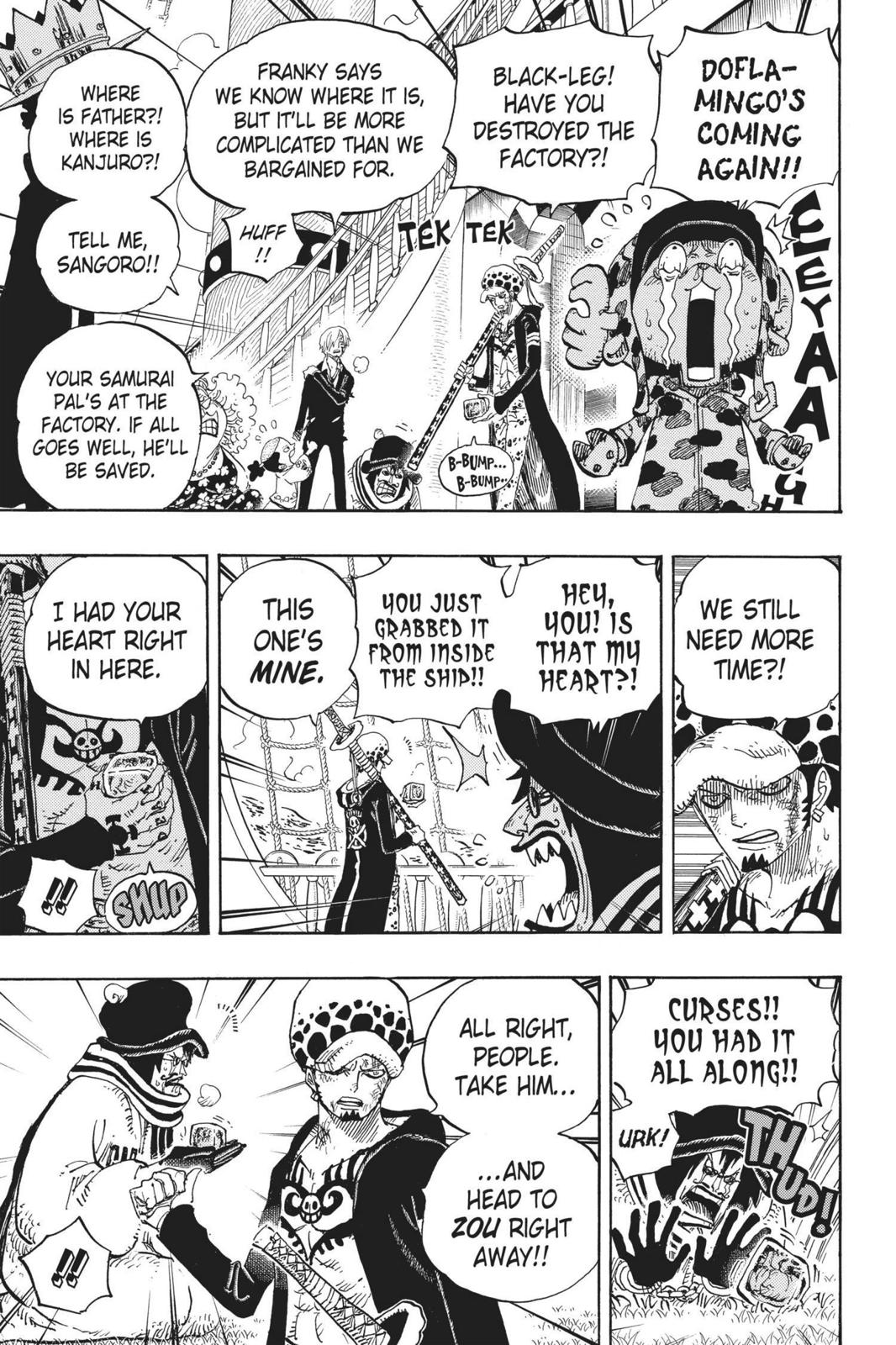 One Piece Chapter 724 Page 11