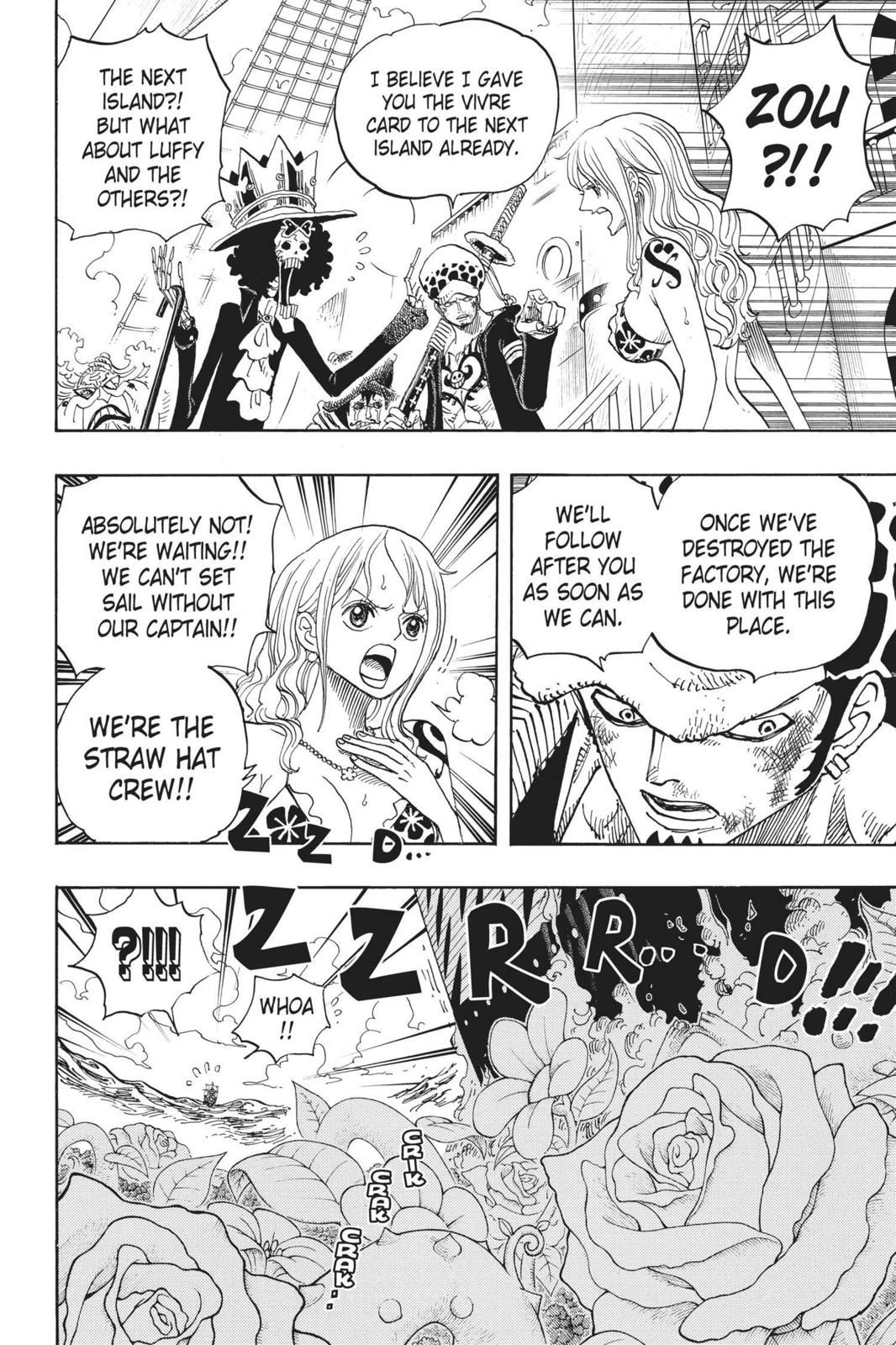One Piece Chapter 724 Page 12