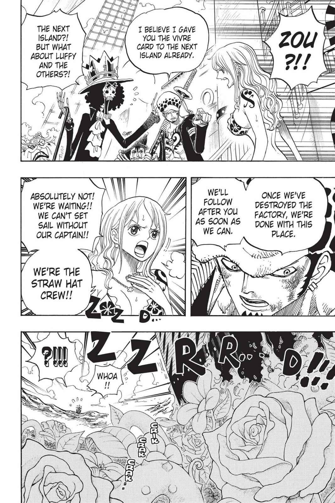 One Piece Chapter 724 Page 13
