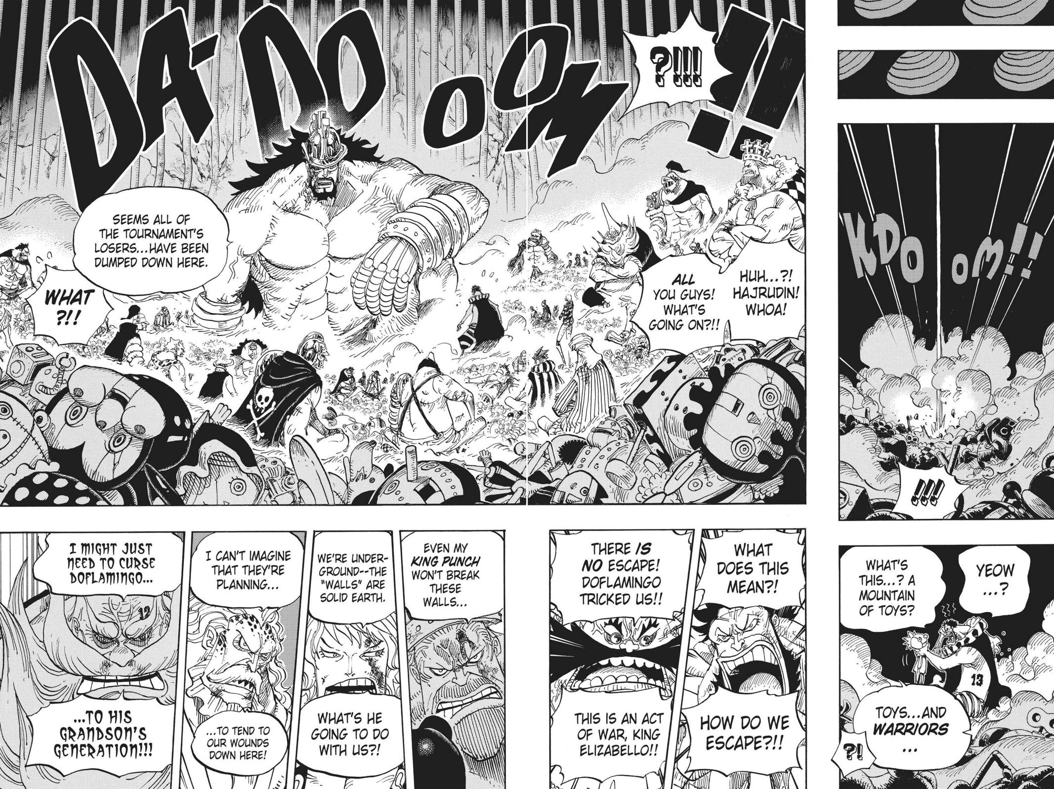One Piece Chapter 725 Page 15