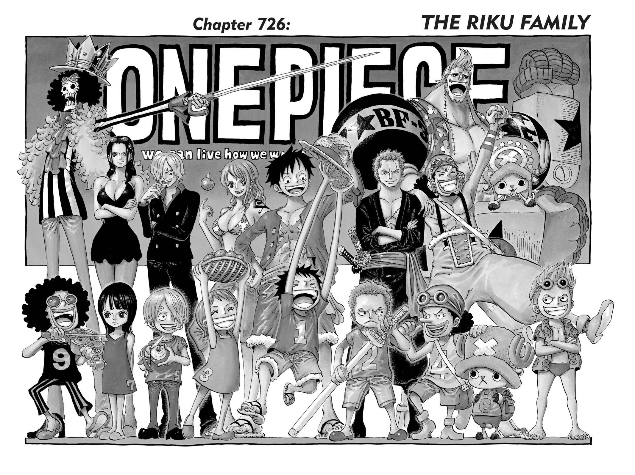 One Piece Chapter 726 Page 1