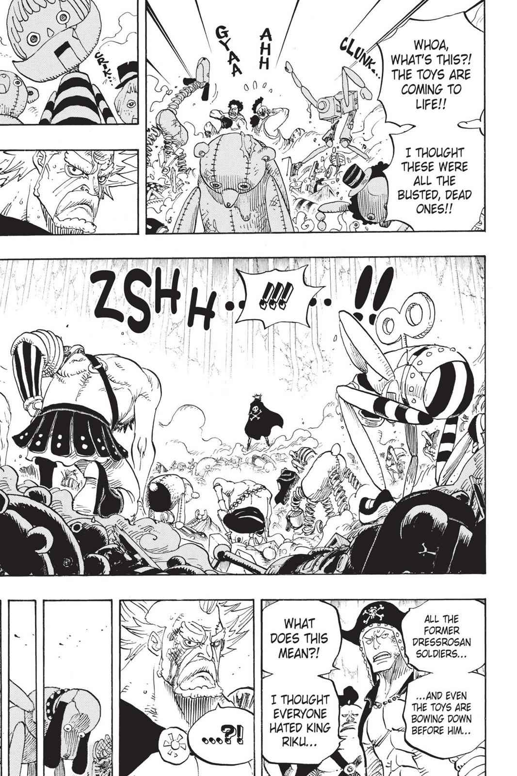 One Piece Chapter 726 Page 10