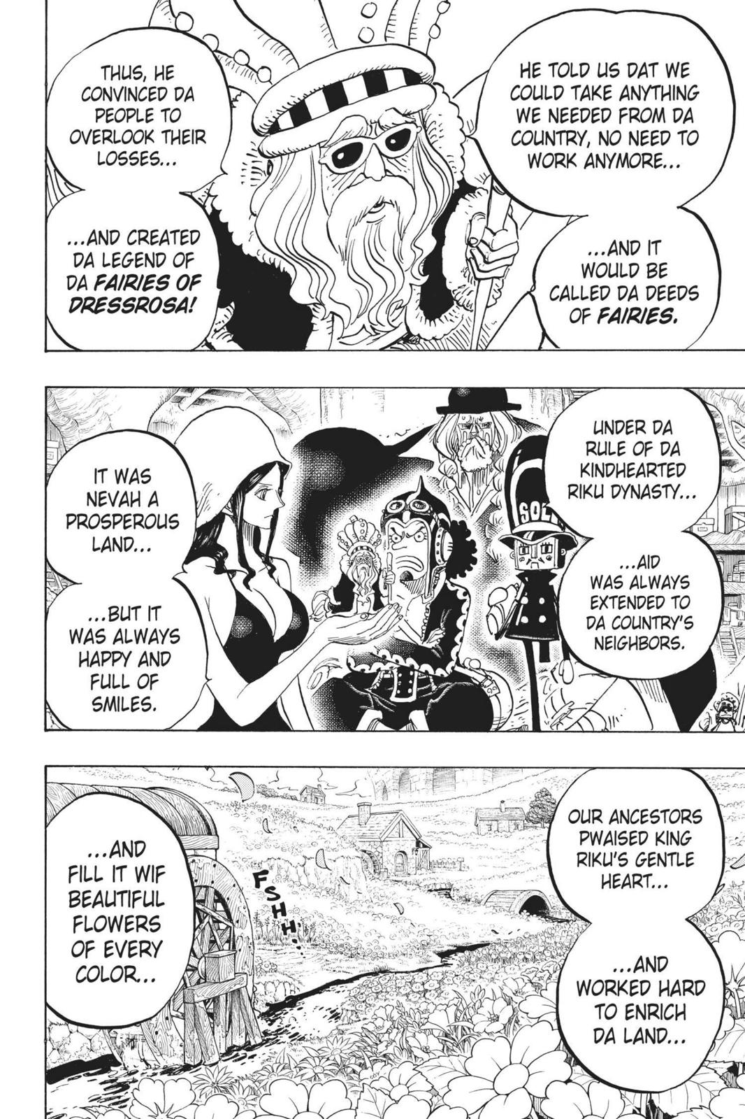 One Piece Chapter 726 Page 16