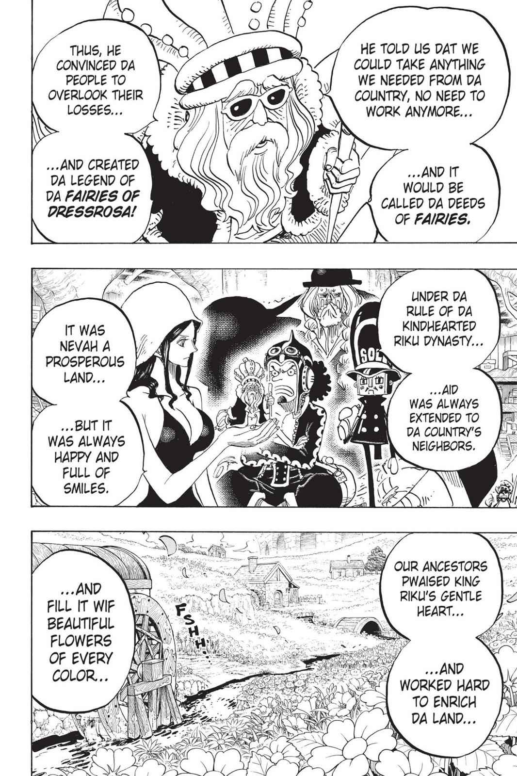 One Piece Chapter 726 Page 17