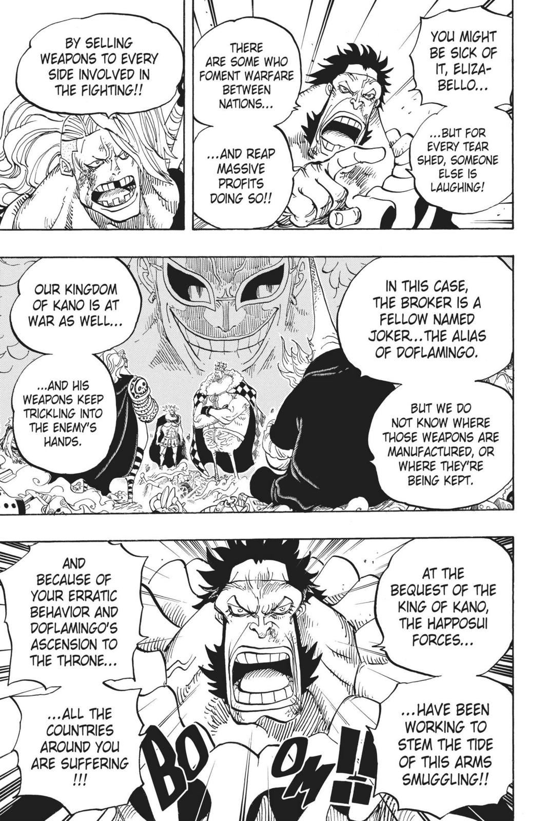 One Piece Chapter 726 Page 7