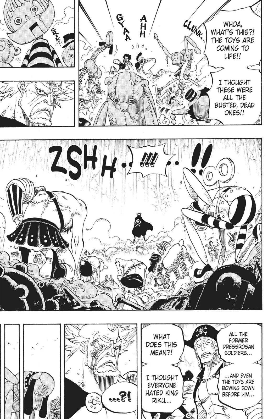 One Piece Chapter 726 Page 9