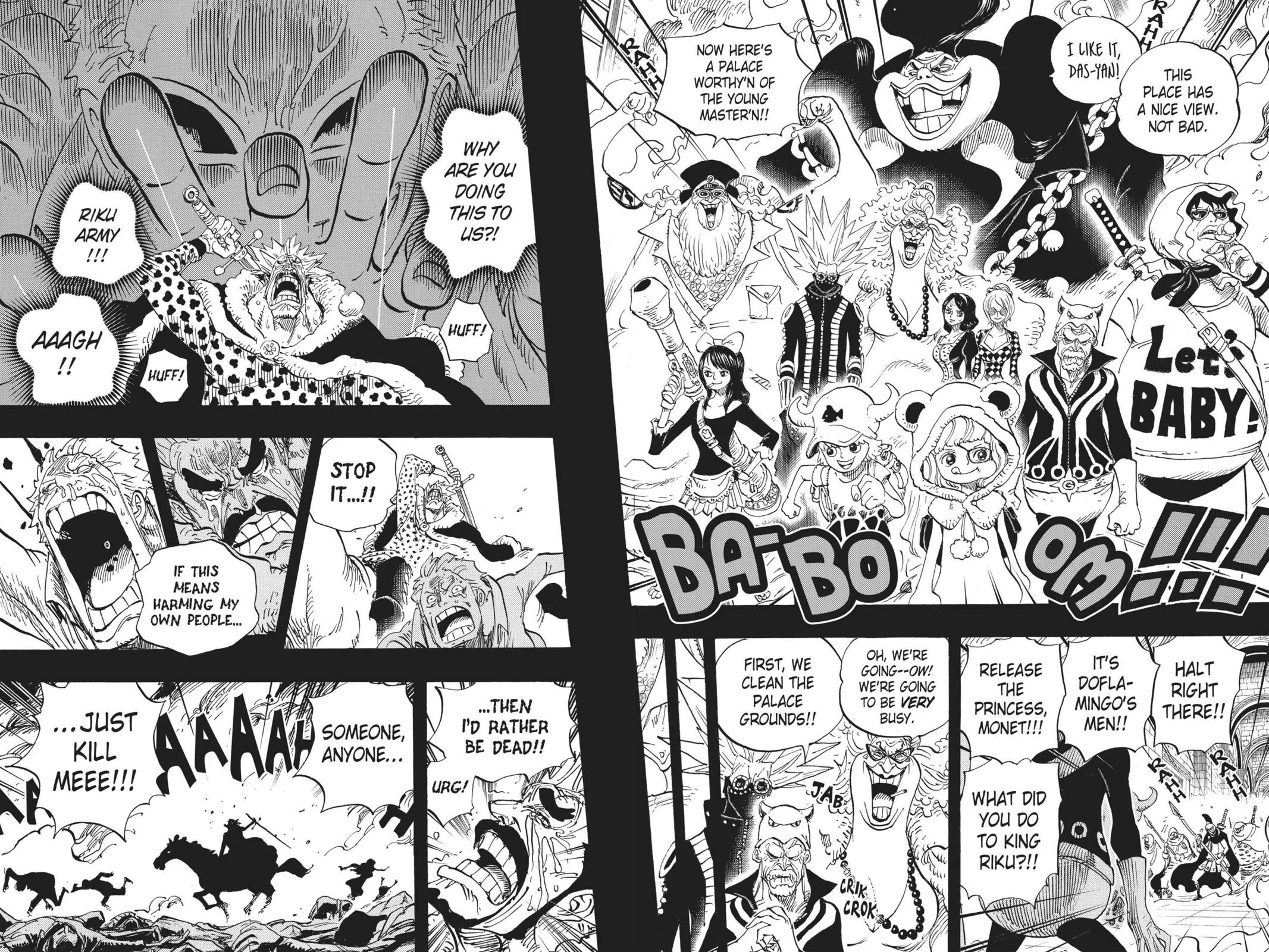 One Piece Chapter 728 Page 4