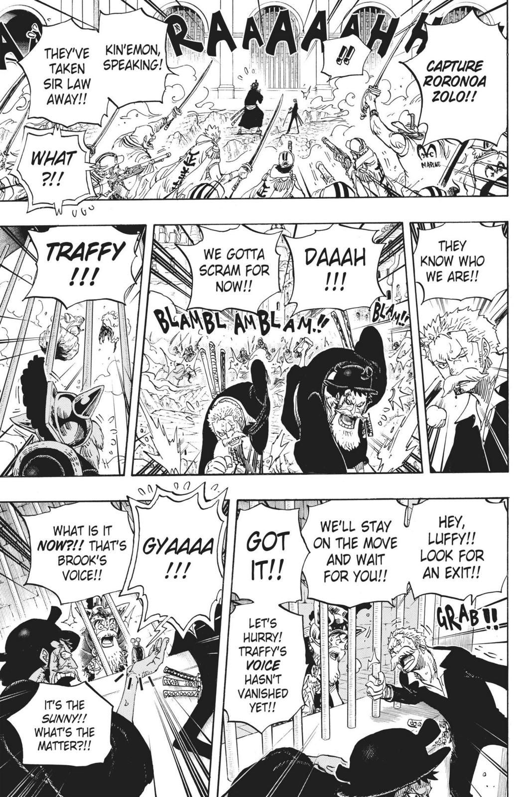 One Piece Chapter 730 Page 10