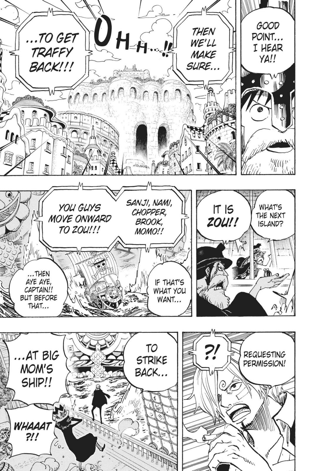 One Piece Chapter 730 Page 15