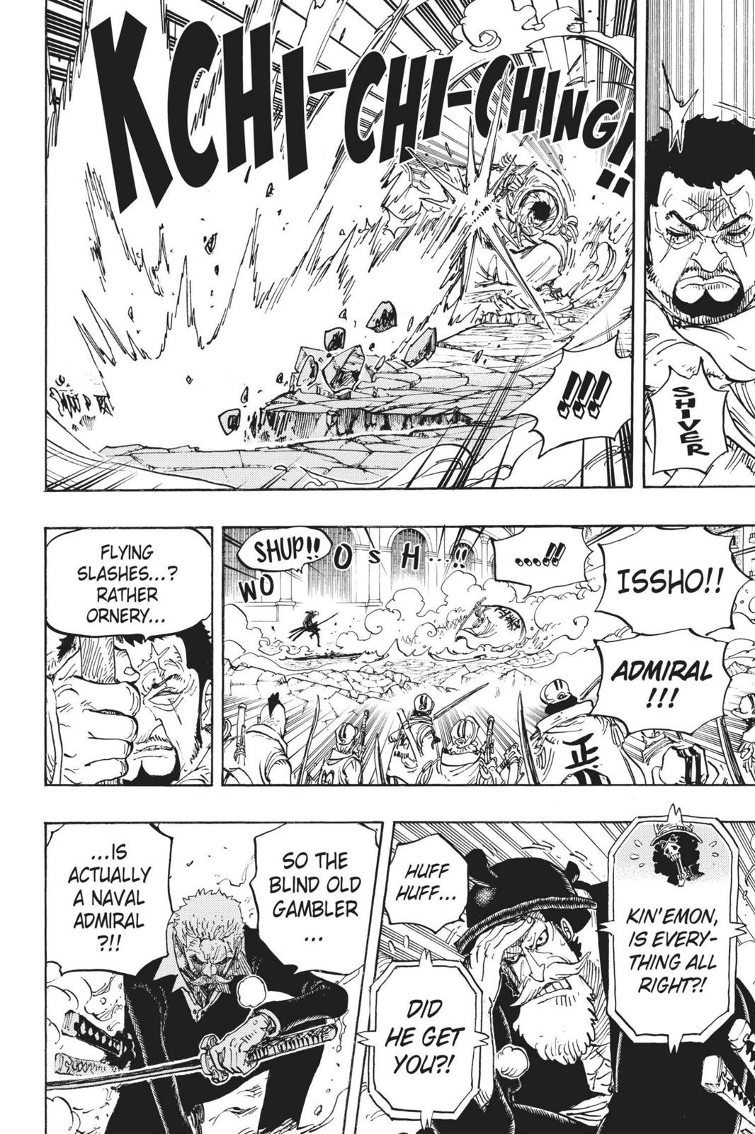 One Piece Chapter 730 Page 7